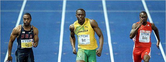Usain Bolt pulveriza el record mundial en los 100 metros lisos