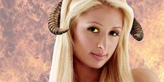 Paris Hilton se convertirá en una criatura diabólica