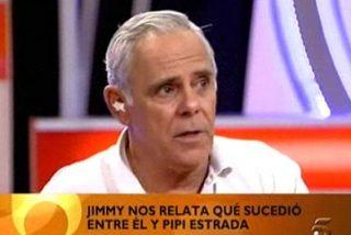 Jimmy Jiménez Arnau cuenta cabreado cómo lo pateó por Pipi Estrada