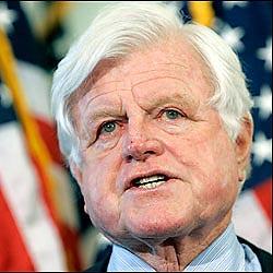 Edward M.Kennedy, senador de EEUU