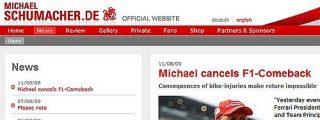 Schumacher renuncia a sustituir a Massa en Valencia