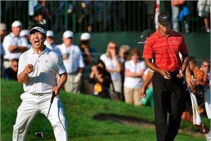 Yang destroza a Tiger Woods en el US PGA