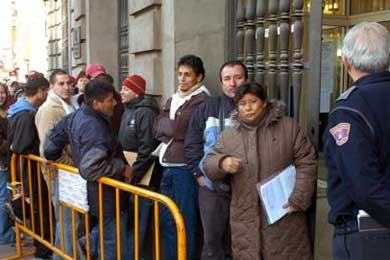 La crisis económica afecta más a los inmigrantes residentes en Galicia