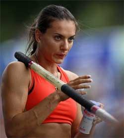 Isinbayeva, premio Príncipe de Asturias de los Deportes