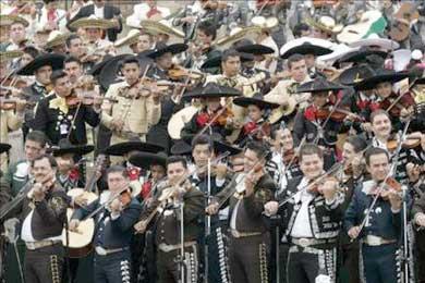 Mariachis y música barroca en la Semana de México en Barcelona
