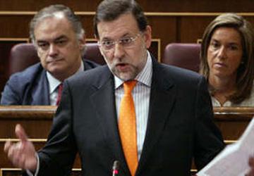 "Rajoy replica a ZP: ""Dejémonos de bromas"""
