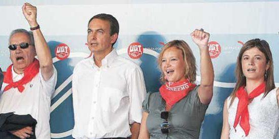 El ritual obrero del PSOE en Rodiezmo aplaude la subida de impuestos de ZP