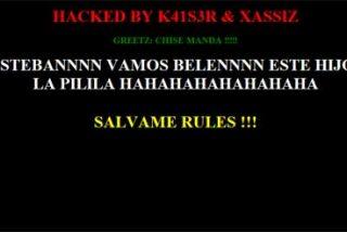 Hackean la web del Defensor del Menor en honor a Belén Esteban
