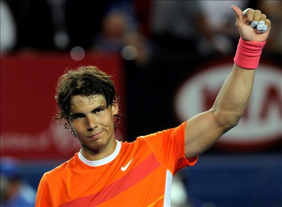 Nadal arrasa en su debut en el Open de Australia