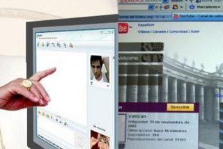 Papa: Que «Él pueda avanzar» en la web