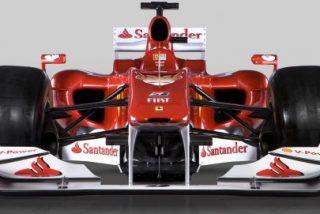 Ferrari F10 al desnudo