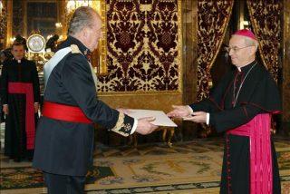 El Nuncio presenta credenciales al Rey