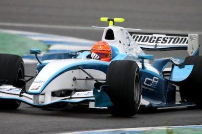 Schumacher hace temblar los cronos