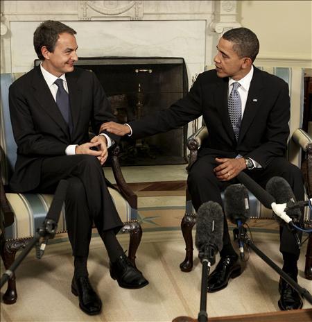 Zapatero rezará...en Washington