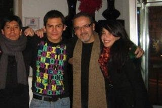 Beto Ortiz se divirtió en España con Tatiana Astengo y Cristian Esquivel