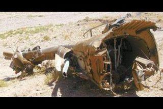 Verde y con asas: al Cougar lo derribaron con lanzagranadas
