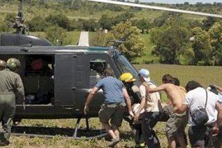 Primera víctima del Dakar 2010: una mujer muere al ser arrollado un grupo de espectadores