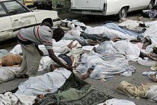 """""""Están montando barricadas con cadáveres, la cosa se está poniendo fea"""""""