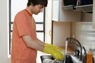 El hombre se implica en las labores domésticas si su mujer tiene un sueldo alto