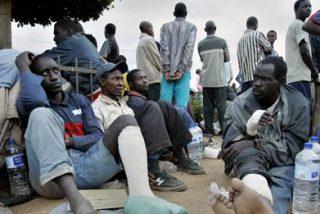 300 Inmigrantes en huelga de hambre en Italia