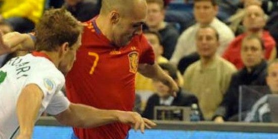 España logra su quinto Europeo de fútbol sala tras derrotar a Portugal en la final en Hungría