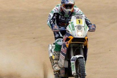 Marc Coma se despide de revalidar su victoria en el Dakar 2010 tras ser sancionado con 6 horas