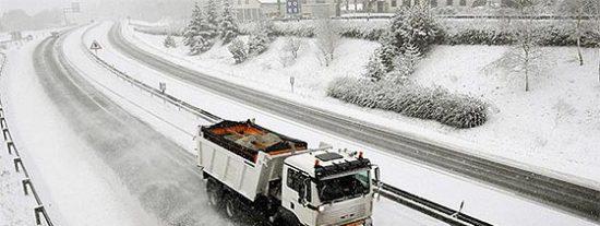 Europa, colapsada por la nieve
