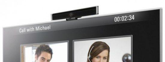 Skype lleva las llamadas de voz IP a los televisores de alta definición