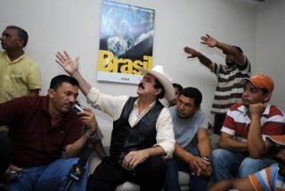 Júbilo en el vecindario de la embajada brasileña porque Zelaya se fue