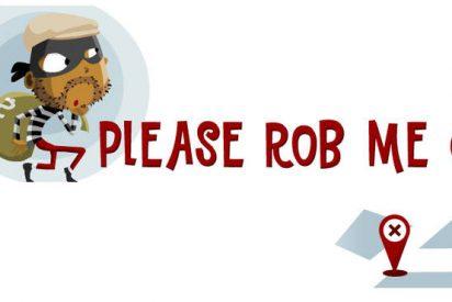 """""""Por favor, róbame"""", la web que dice a los ladrones cuando no estás en casa"""