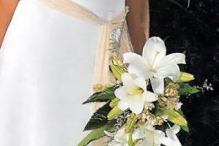 Crean un vestido de novia con aroma para calmar los nervios