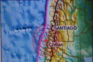 La Iglesia católica chilena ora tras el terremoto