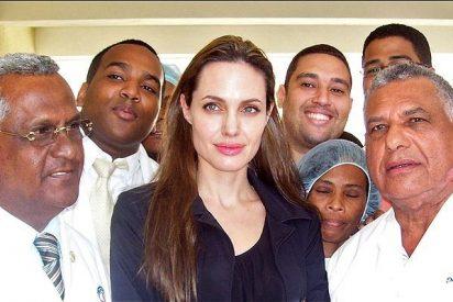 Angelina Jolie visita Haití como embajadora de buena voluntad de la ONU