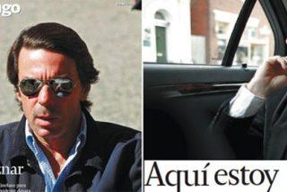 Aznar según el Grupo Prisa: un halcón libre de los de