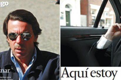 """Aznar según el Grupo Prisa: un halcón libre de los de """"aquí estoy yo"""""""