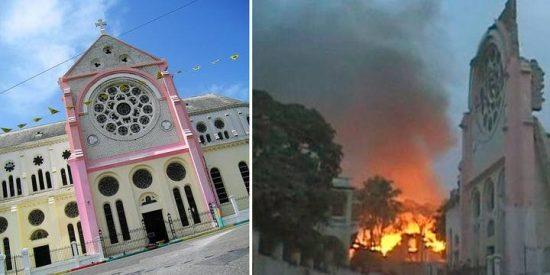 «El 80 por ciento de las iglesias de la capital se derrumbaron»