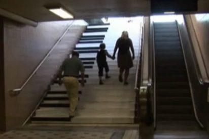 Cómo solucionar la obesidad en las grandes ciudades: instale escaleras-piano y verá lo que ocurre