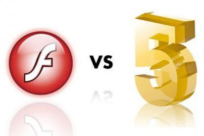 Adobe Flash vs HTML5, la guerra por el próximo estándar de Internet