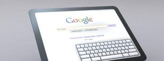 Google enseña el concepto de su propio iPad