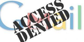 Irán bloquea el acceso a Gmail