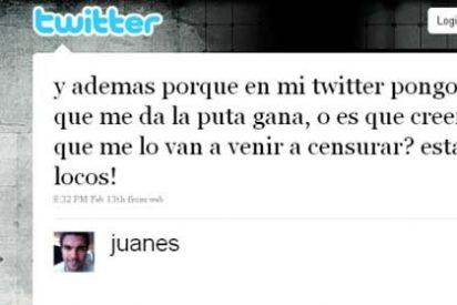 "Juanes: ""En mi Twitter pongo lo que me da la puta gana"""