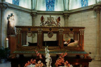 Las reliquias de Santa Bernadette, en Roma