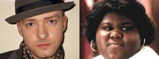 La actriz de Precious le tira los tejos a Timberlake