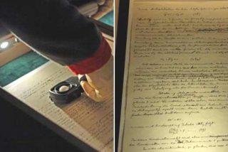 Exponen por primera vez el manuscrito de la Teoría de la Relatividad de Einstein