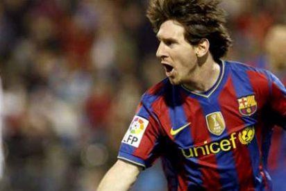 Messi imparte cátedra en Zaragoza