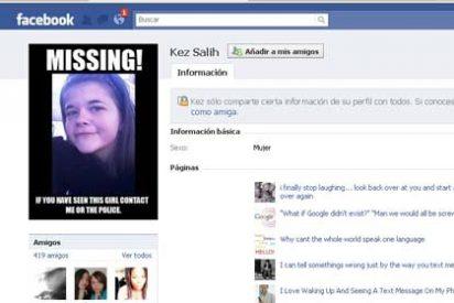 Desaparece una adolescente tras quedar con un hombre que conoció en Facebook