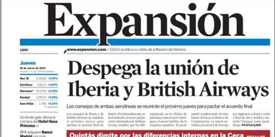 Desconvocada la huelga en Expansión