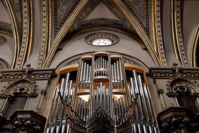 Bendición del nuevo órgano de Montserrat