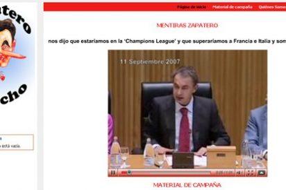 Los internautas se unen contra Zapatero