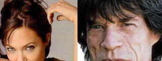 Angelina Jolie tuvo una aventura con Mick Jagger